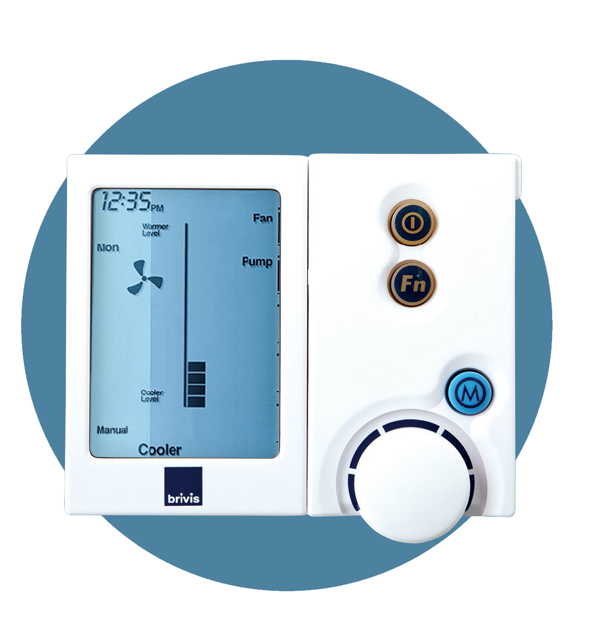 evaporative cooling controller
